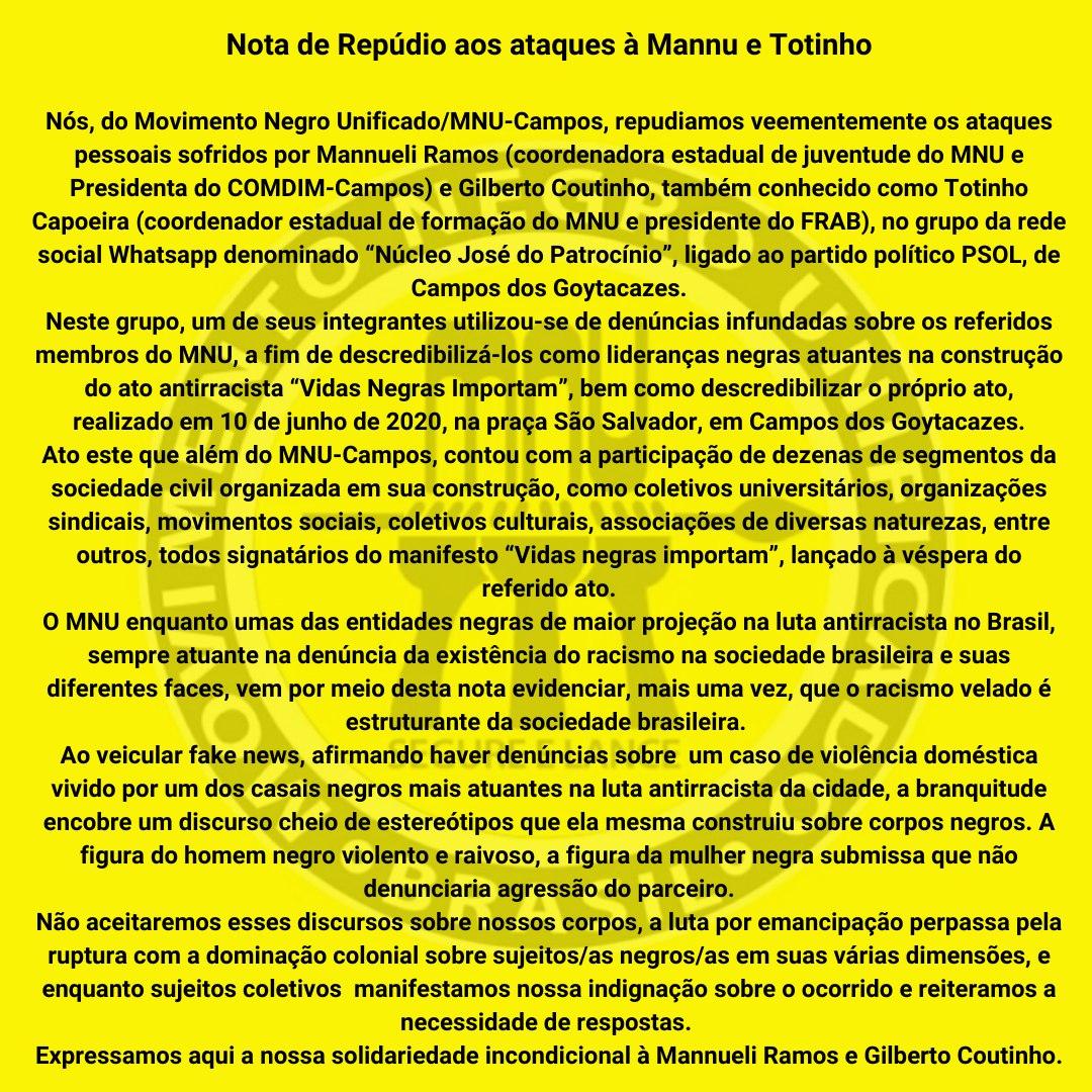 Nota MNU