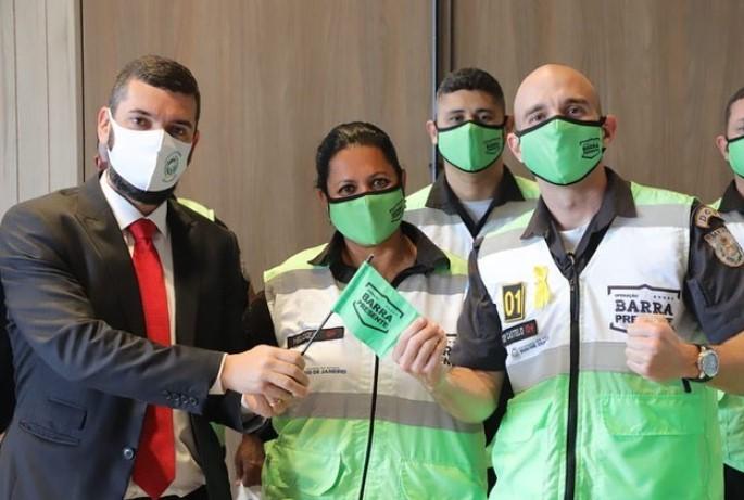 Secretário de Governo do Estado do Rio de Janeiro participa de evento com a presença de agentes do Segurança Presente